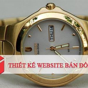 Thiết kế website bán hàng Đồng hồ 1,900K