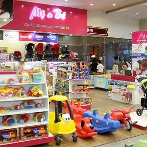 Shop Mẹ và Bé - Thiết kế web bán hàng giá rẻ 1,900K